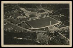 780505: Sport u. Spiel, Olympia Berlin 1936, Sportstätten