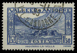 1670: Andorra French Post