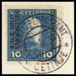 4810: Österreich Feldpost Montenegro