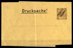 German Post in Morocco - Private postal stationery