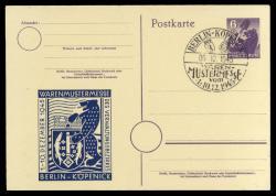SBZ Berlin Brandenburg - Postal stationery