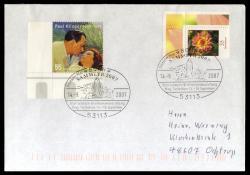 213040: Postgeschichte, Briefmarkenausstellungen, International nach 1945