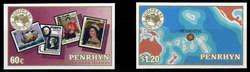 212010: Postgeschichte, Briefmarken, Briefmarke auf Briefmarke