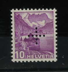 Switzerland Official Stamp for Federal Authority