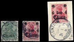 150: Deutsche Auslandspost China - Stempel