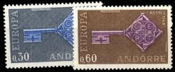 Andorra French Post
