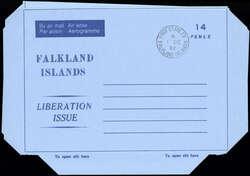 2480: Falkland - Ganzsachen