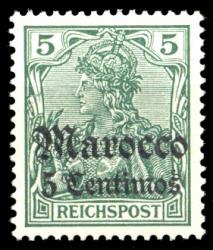 German Post in Morocco