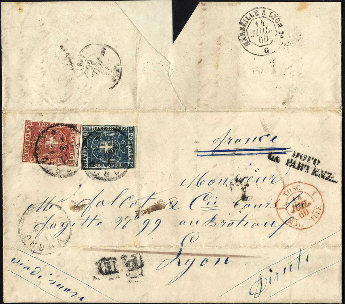 Lot 1008 - europa italien staaten toscana -  HA HARMERS AUCTIONS S.A. Treasure Hunt 3