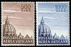 6630: Vatikanstaat - Airmail stamps