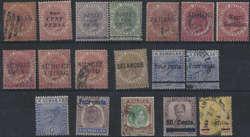 7495: Sammlungen und Posten Malaiisische Staaten - Collections