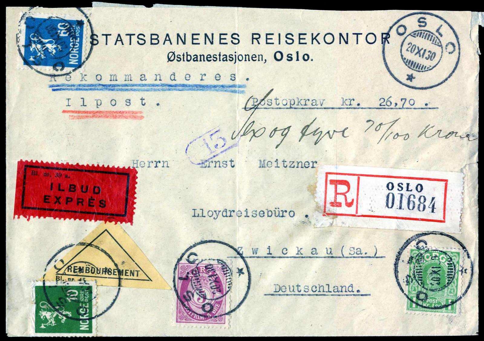 Lot 519 - europa norwegen -  HA HARMERS AUCTIONS S.A. Treasure Hunt 3