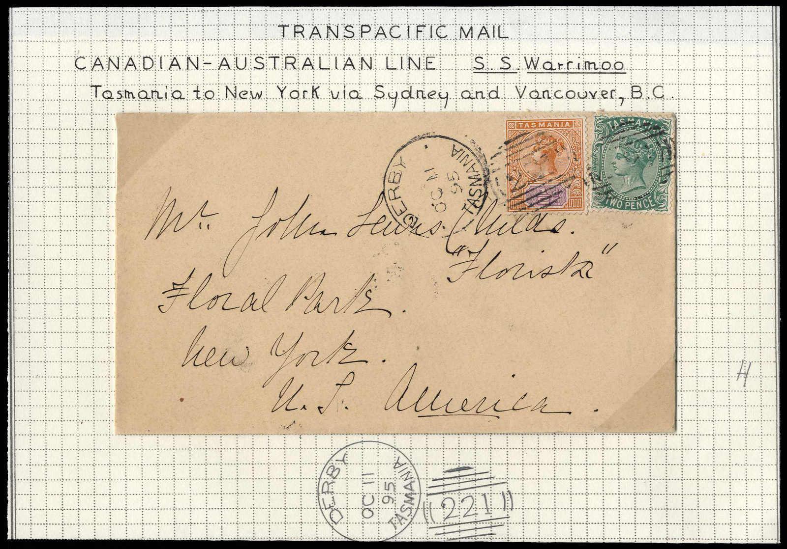 Lot 808 - andere gebiete tasmanien -  HA HARMERS AUCTIONS S.A. Treasure Hunt 3