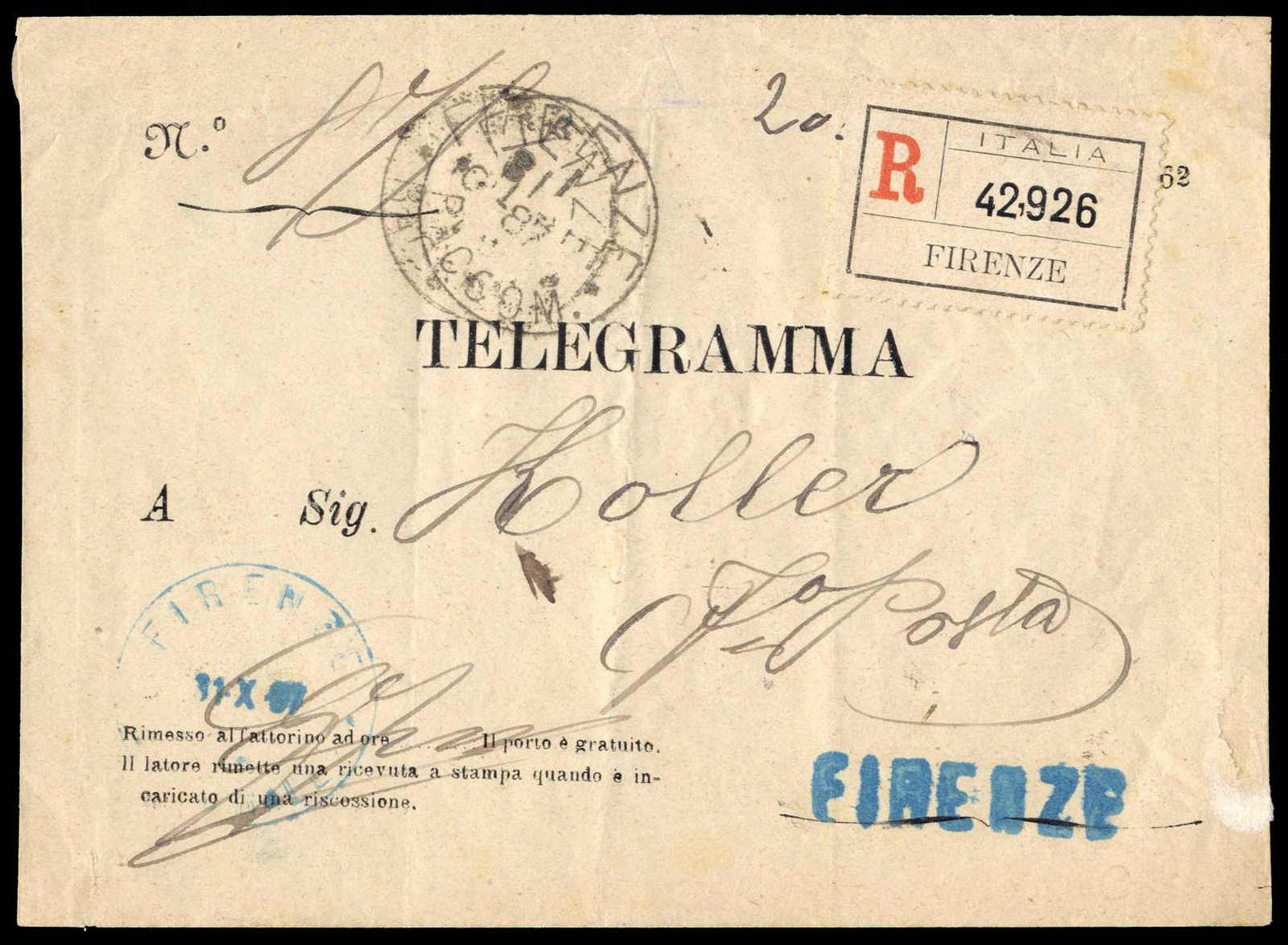 Lot 1023 - europa italien -  HA HARMERS AUCTIONS S.A. Treasure Hunt 3