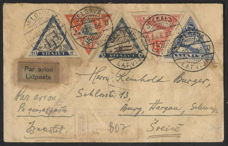 Lot 395 - europa lettland -  HA HARMERS AUCTIONS S.A. Treasure Hunt 3