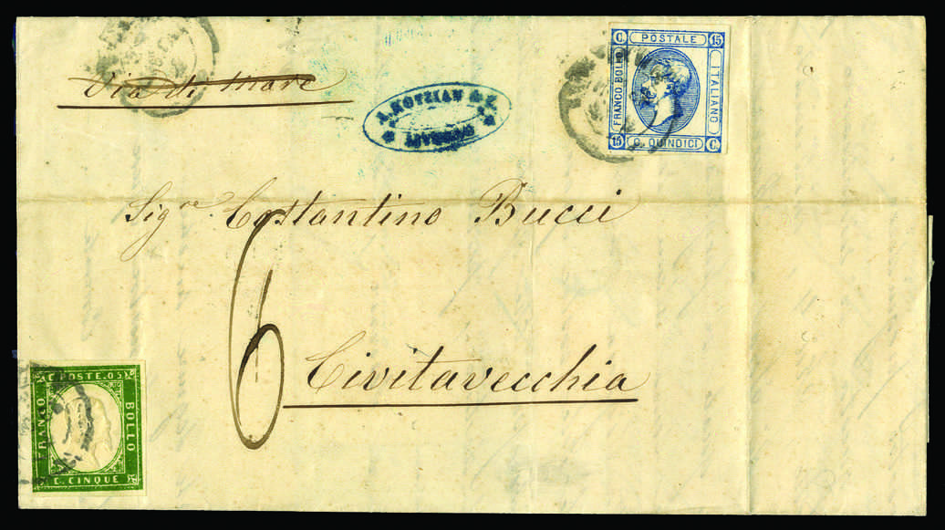 Lot 1002 - europa italien staaten sardinien -  HA HARMERS AUCTIONS S.A. Treasure Hunt 3