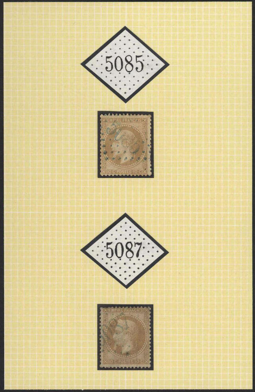 Lot 1211 - europa Rumänien Französische Levante Postämter -  HA HARMERS AUCTIONS S.A. Treasure Hunt 3