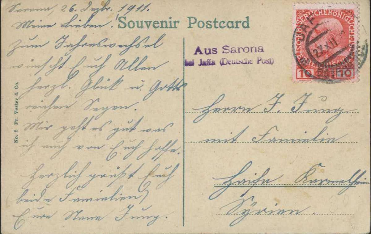 Lot 373 - europa österreich post in der levante -  HA HARMERS AUCTIONS S.A. Treasure Hunt 3