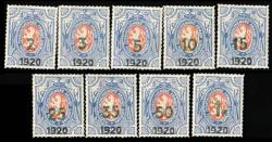 6335: Tschechoslowakei - Military mail stamps