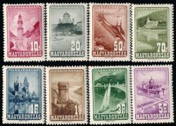 6535: Ungarn - Airmail stamps