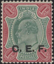 3010: Indien Britisch Indische Feldpost in China