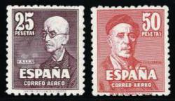 5790: Spanien - Airmail stamps