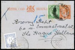 6085: Südafrika - Postage due stamps