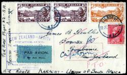 4565: New Zealand - Airmail stamps