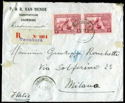 5400: Ruanda Urundi - Cancellations and seals