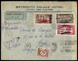 4160: Libanon - Postage due stamps