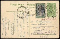 1850: Belgian Congo - Postal stationery