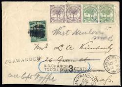 5580: Samoa - Se-tenant prints