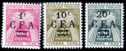 5350: Reunion - Postage due stamps