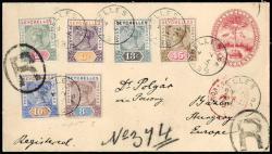 5730: Seychelles - Postal stationery