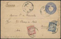 2425: Ecuador - Postal stationery