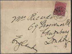 3010: Indien Britisch Indische Feldpost in China - Military mail stamps