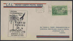 2335: Cuba - Airmail stamps