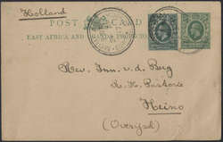 4850: East African and Uganda Protectorates - Postal stationery