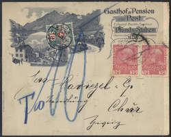 4745: Österreich - Postage due stamps