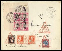 2705: Französisch Indochina Allgemeine Ausgaben - Postage due stamps