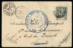 2710: Französisch Indochina Südchina A: Allg. Ausg. - Postal stationery