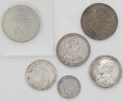 100.80.20: Lots - Münzen - Silbermünzen aus aller Welt