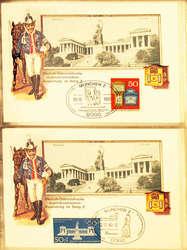 7815: Sammlungen und Posten Ansichtskarten Bayern
