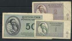 110.80.160: Banknoten - Deutschland - Gefangenenlager