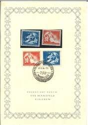 1380: DDR - Ersttagsblätter