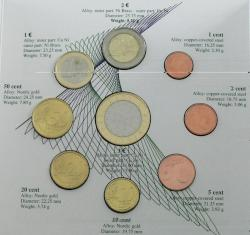 40.490.10.10: Europe - Slovenia - Euro - Coins - sets