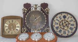 800.10: Clocks, wall and long case clocks