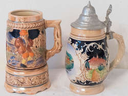 850.35.10: Chopes à bière varia - mugs - &-Seidel