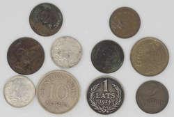 100.70.240: Lots - Münzen - Lettland