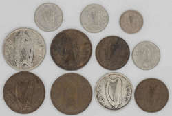 100.70.180: Lots - Münzen - Irland